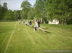 Här kan man sitta gott med lite fika och titta på matchen men man får se upp så man inte får en boll eller sns pelare i knät...Dagens match var mellan SK Mjörn och Hedareds BK i femman...hemmavinst med 3-1 har jag för mig?