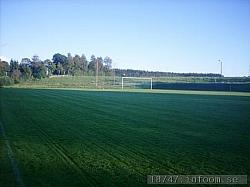 Södra målet taget från långlinjen på östra sidan.