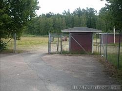 Denna entrén har välkomnat många stora och små lirare genom åren. För här har ju spelats allsvenska matcher till och med.