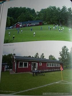 Här ses två bilder full aktiviteter med ett Hedigsborgs IP i sin fulla glans.