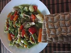 Kycklingsoppa med grönsaker, eget smakrikt recept.