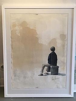 Akvarell. Johan Jönsson. Vernissage 7 juni.
