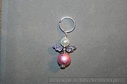BC038 Barncancerängel 38: Ängel med litennyckelring...finns att köpa hos Studio Mini SÅLD