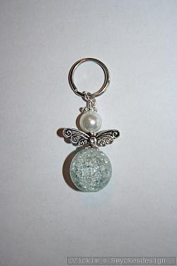 BC065 Barncancerängel 65: Ängel med liten nyckelring 40:- (20:- går till barncancerfonden) SÅLD