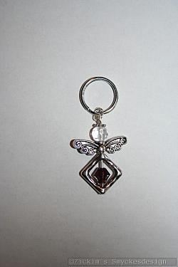 BC068 Barncancerängel 68: Ängel med liten nyckelring 40:- (20:- går till barncancerfonden)SÅLD