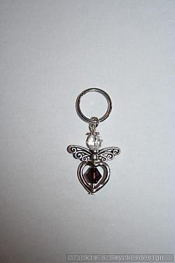 BC069 Barncancerängel 69: Ängel med liten nyckelring 40:- (20:- går till barncancerfonden) SÅLD