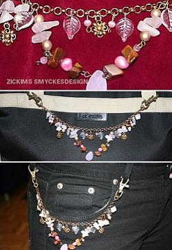 OV001 Pink: Smycke som kan användas tex på byxorna eller på väskan eller varför inte på axeln på kavajen...129:-SÅLDFör att se en större bild, klicka på denna länk.