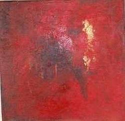 Röda drömmar Olja av Johan Jönsson 4800 kr