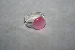 OV036 Ring 1: Ring (justerbar) med rosa cateye pärla...45:- För att se en större bild, klicka på denna länk.