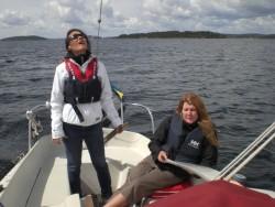 Koll på både windex och sjökort!