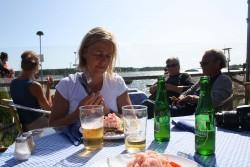Uteservering på Solvik 2009