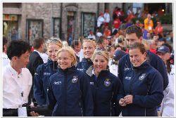 Team Sweden invigning EM i Italien Assisi 2009