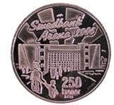Arena mynt åtsida