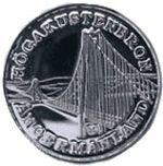 Mynt HK bron, åtsida