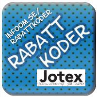 Jotex  Rabattkod